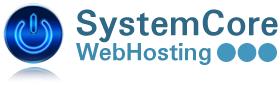 SystemCore WebHosting logo image